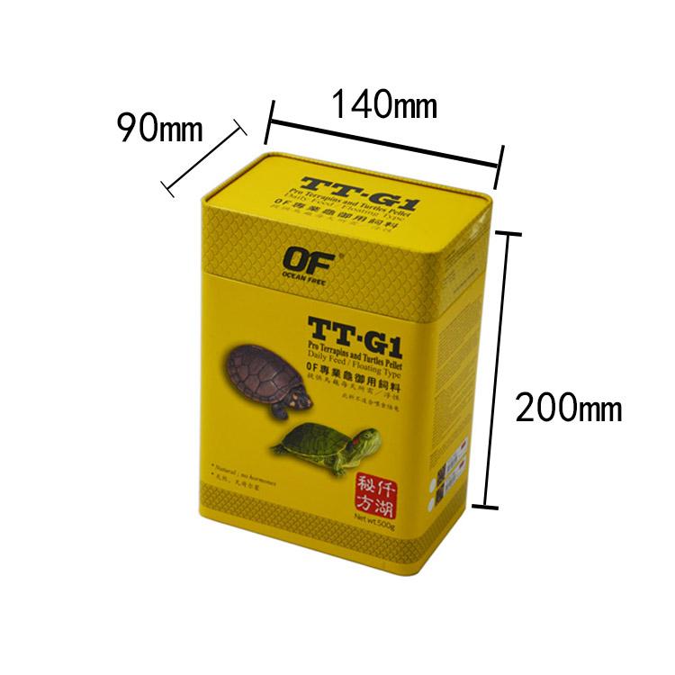 龙鱼罐饲料罐500g