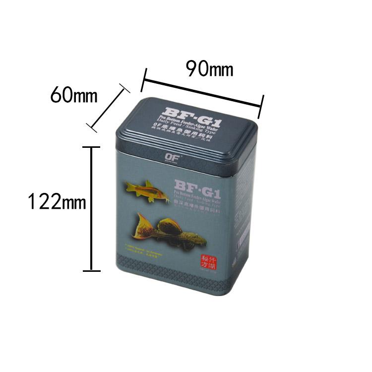 龙鱼罐饲料罐120g